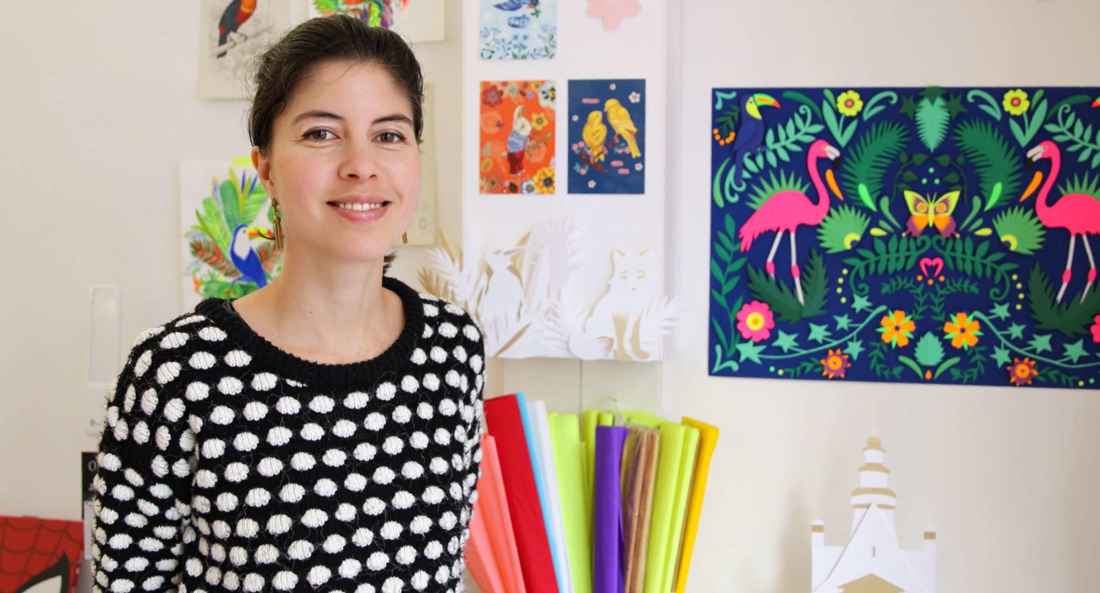 Rencontre avec Barbara Cadet artiste papier - Souffle Chaud Webzine Culturel