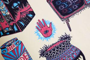 Loïc Bouchet Illustrateur - Souffle Chaud Réflexion en mouvement sur le processus de création