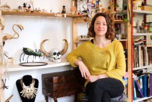 Rencontre avec Eva Chettle et son cabinet de curiosité - Souffle Chaud Webzine Culturel Incandescent