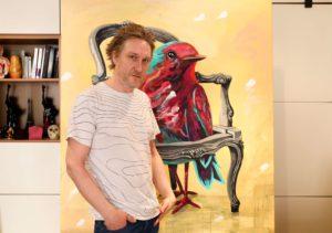 Interview d'Aksel Varichon, artiste peintre à Paris - Dialogue autour de son processus de création