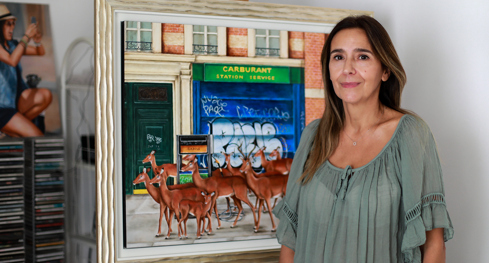 Rencontre avec Corine Perier - Artiste peintre à Paris - Souffle Chaud