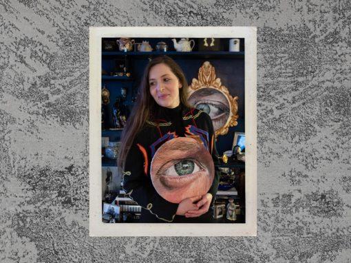 Podcast Souffle Chaud - Rencontre avec V portraitiste occulaire